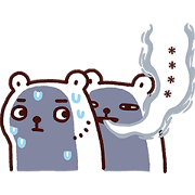BacBac's Diary can custom finally Sticker for LINE & WhatsApp | ZIP: GIF & PNG