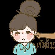 Bonbonmonja's Love Story Sticker for LINE & WhatsApp | ZIP: GIF & PNG