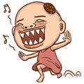 Boss Bau is Here! Sticker for LINE & WhatsApp | ZIP: GIF & PNG