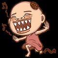 Boss Bau is Here! Sticker for LINE & WhatsApp | ZIP: GIF & PNG