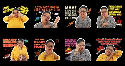 Bude Sumiyati Line Sticker GIF & PNG Pack: Animated & Transparent No Background   WhatsApp Sticker