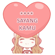 Centilia & Raei: Custom Stickers Sticker for LINE & WhatsApp | ZIP: GIF & PNG