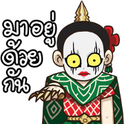 Cha-Ba Nang-Rum Official Sticker for LINE & WhatsApp | ZIP: GIF & PNG