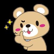 Checkuma Sticker for LINE & WhatsApp | ZIP: GIF & PNG