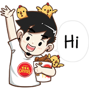 Chester's × Ton-Mai: More Enjoyable Time Sticker for LINE & WhatsApp | ZIP: GIF & PNG