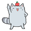 Chinchilla Sticker for LINE & WhatsApp | ZIP: GIF & PNG
