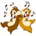 Chip 'n' Dale Sticker for LINE & WhatsApp | ZIP: GIF & PNG