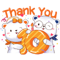 Chulabhorn Hospital 10th Anniversary Sticker for LINE & WhatsApp | ZIP: GIF & PNG
