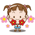 Cocoa-Sailor suit Sticker for LINE & WhatsApp | ZIP: GIF & PNG