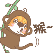 Corgi Pon Pon: Costume Party Sticker for LINE & WhatsApp | ZIP: GIF & PNG