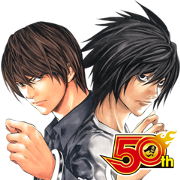 DEATH NOTE J50th Sticker for LINE & WhatsApp | ZIP: GIF & PNG