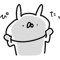 DECENCIA × USAGI TEIKOKU Sticker for LINE & WhatsApp   ZIP: GIF & PNG