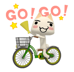 DOKO DEMO ISSYO Sticker for LINE & WhatsApp | ZIP: GIF & PNG