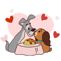 Disney Cats & Dogs (Taiwan Ed.) Sticker for LINE & WhatsApp | ZIP: GIF & PNG