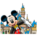Disney Theme Park Sticker for LINE & WhatsApp | ZIP: GIF & PNG