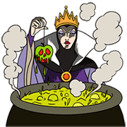Disney Villains Sticker for LINE & WhatsApp | ZIP: GIF & PNG