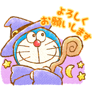 Doraemon's Heartwarming Stickers Sticker for LINE & WhatsApp | ZIP: GIF & PNG