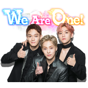 EXO-CBX Song Stickers Sticker for LINE & WhatsApp | ZIP: GIF & PNG