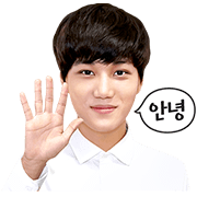 EXO KAI Special Sticker for LINE & WhatsApp | ZIP: GIF & PNG