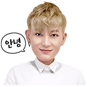 EXO TAO Special Sticker for LINE & WhatsApp | ZIP: GIF & PNG