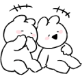 Extremely Little Rabbit Animated Vol. 2 Sticker for LINE & WhatsApp | ZIP: GIF & PNG