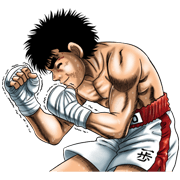 Fighting Spirit Sticker for LINE & WhatsApp | ZIP: GIF & PNG