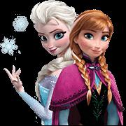 Frozen Sticker for LINE & WhatsApp | ZIP: GIF & PNG