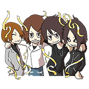 GLAY Sticker for LINE & WhatsApp | ZIP: GIF & PNG