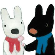 Gaspard et Lisa Sticker for LINE & WhatsApp | ZIP: GIF & PNG