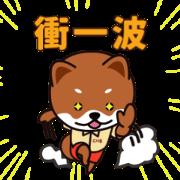 Go BOA go! Sticker for LINE & WhatsApp | ZIP: GIF & PNG