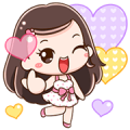 Gypso Big Love Big Stickers Sticker for LINE & WhatsApp | ZIP: GIF & PNG