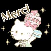 Hello Kitty × Les Secrets LADURÉE Sticker for LINE & WhatsApp | ZIP: GIF & PNG