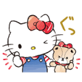 Hello Kitty and Tiny Chum Sticker for LINE & WhatsApp | ZIP: GIF & PNG