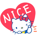 Hello Kitty's Cute Phrases Sticker for LINE & WhatsApp | ZIP: GIF & PNG
