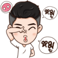 Here Is Husband 4 Sticker for LINE & WhatsApp | ZIP: GIF & PNG