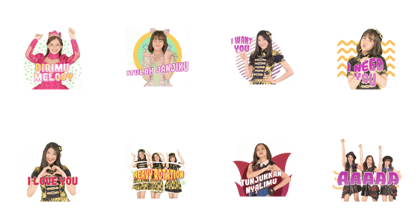 JKT48 - Our Story Line Sticker GIF & PNG Pack: Animated & Transparent No Background | WhatsApp Sticker