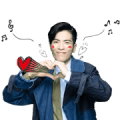Jam Hsiao Animated Music Stickers Sticker for LINE & WhatsApp | ZIP: GIF & PNG