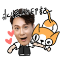 Jeff and CoCo Sticker for LINE & WhatsApp | ZIP: GIF & PNG