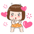JingJung Animated 2 Sticker for LINE & WhatsApp | ZIP: GIF & PNG