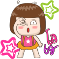 JingJung Animated 4 Sticker for LINE & WhatsApp | ZIP: GIF & PNG
