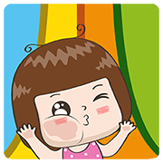 Jingjung Pop-Ups Sticker for LINE & WhatsApp | ZIP: GIF & PNG