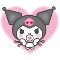 Kuromi Sticker for LINE & WhatsApp | ZIP: GIF & PNG