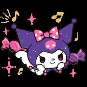 Kuromi: Cute & Stylish Sticker for LINE & WhatsApp | ZIP: GIF & PNG