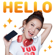 LINE MUSIC Star COCO Sticker for LINE & WhatsApp | ZIP: GIF & PNG