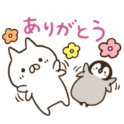 LINE NEWS × Penguin and Cat Days Sticker for LINE & WhatsApp | ZIP: GIF & PNG