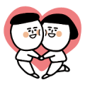 LINE Official Select × 1G Sticker for LINE & WhatsApp | ZIP: GIF & PNG