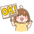 LINE Shopping × ShiaMi Sticker for LINE & WhatsApp | ZIP: GIF & PNG