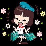 Look Good, Feel Great Sticker for LINE & WhatsApp   ZIP: GIF & PNG