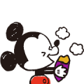 Mickey and Friends: Autumn Warmth Sticker for LINE & WhatsApp | ZIP: GIF & PNG