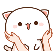 Mochi Mochi Peach Cat & Friend Sticker for LINE & WhatsApp | ZIP: GIF & PNG